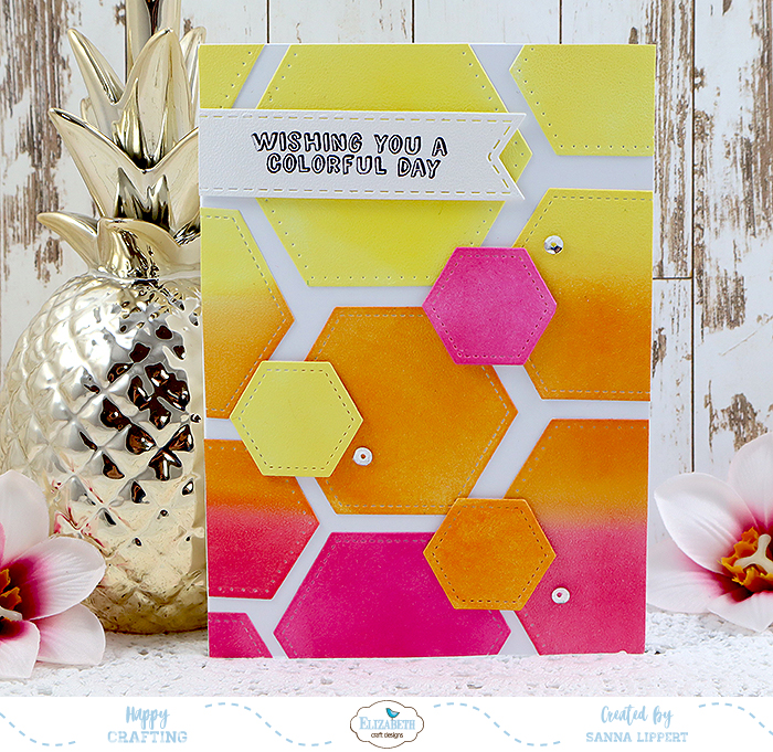 How To Create These Clean And Simple Hexagon Cards